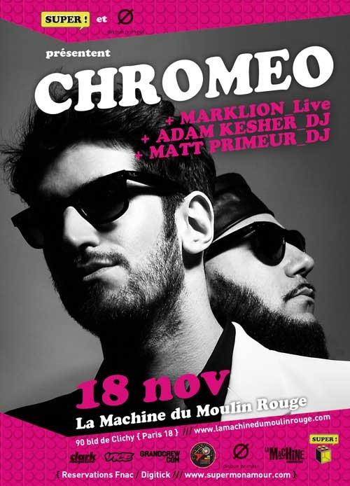 Chromeo Cannery Ballroom Tickets