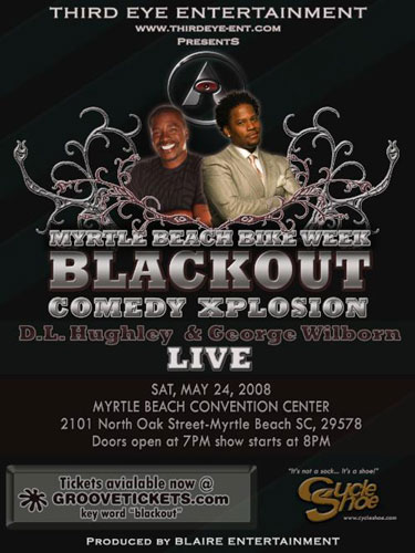 Dates Comedy Explosion 2011