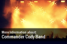 Commander Cody Band Dates 2011 Tour