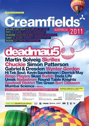 2011 Creamfields Show