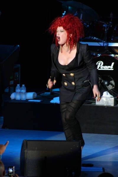 2011 Show Cyndi Lauper