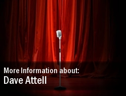 Dave Attell Tickets Seattle