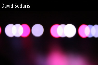 2011 Dates David Sedaris