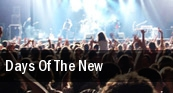 Days Of The New Dates 2011 Tour