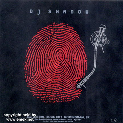 Dj Shadow Showbox Sodo
