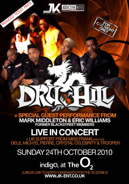Dru Hill Atlantic City Tickets