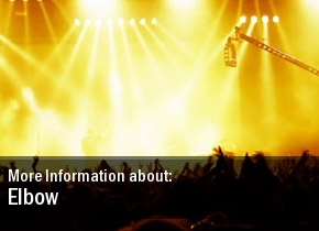 Elbow National Indoor Arena Tickets