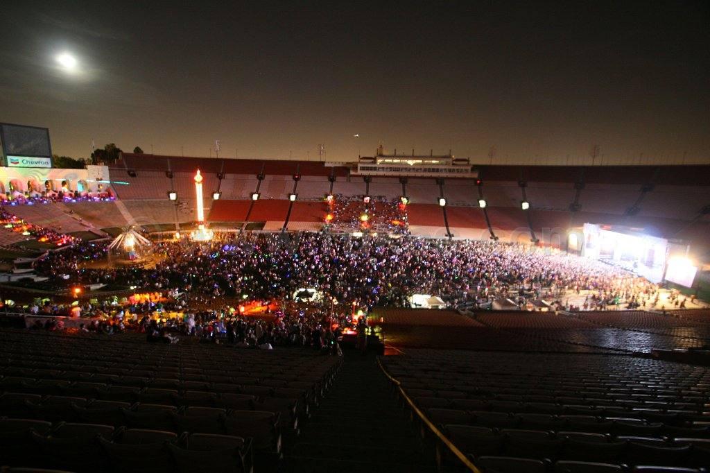 Electric Daisy Carnival Los Angeles Memorial Coliseum