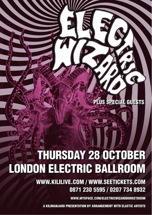 Electric Wizard 2011 Dates