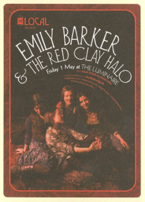 Emily Barker Tickets The Louisiana