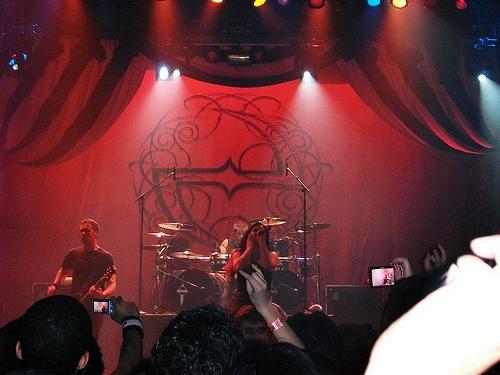 2011 Show Evanescence