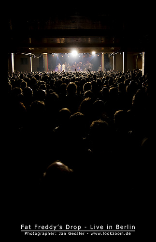 Dates Fat Freddys Drop Tour 2011