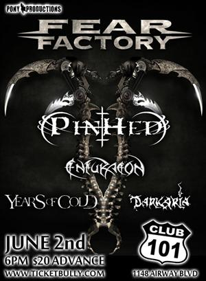 Dates Tour 2011 Fear Factory