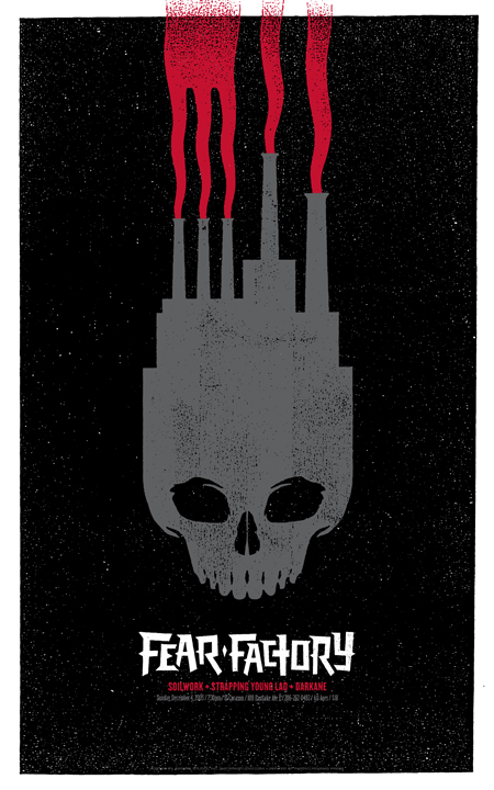 Fear Factory Trocadero Tickets