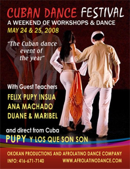 Dates Tour Festival Son Cuba 2011