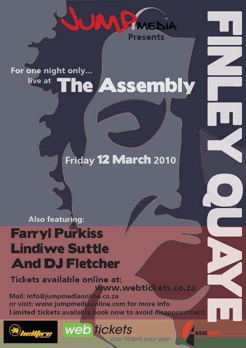 Concert Finley Quaye