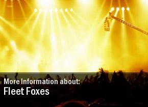 Fleet Foxes 2011 Show