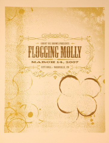 Dates Tour Flogging Molly 2011