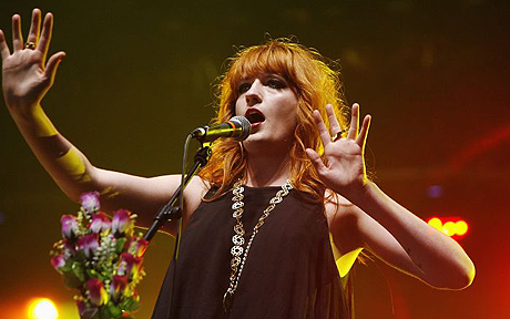 Florence and the Machine concert pictures
