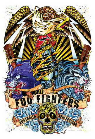 2011 Tour Foo Fighters Dates