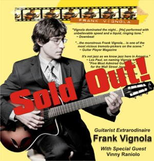 Frank Vignola The Ark Tickets