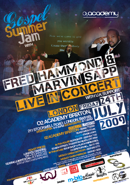 Tickets Show Fred Hammond