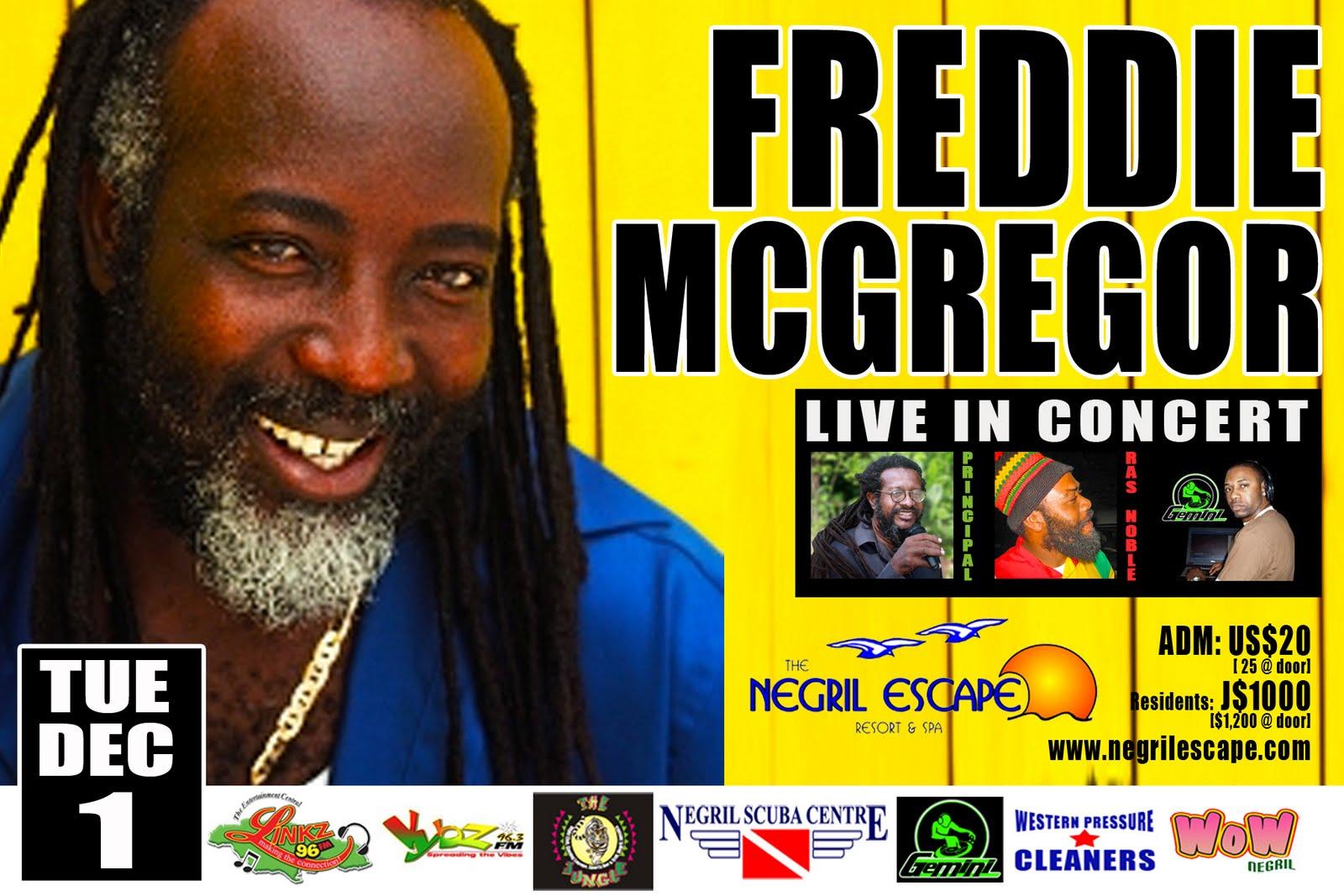 Freddie Mcgregor Jannus Live