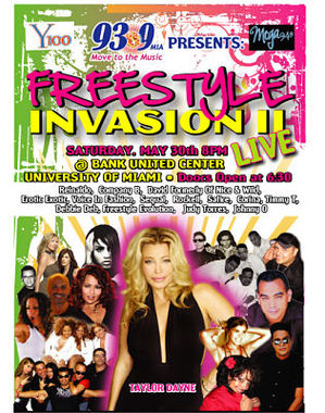 Dates 2011 Freestyle Invasion