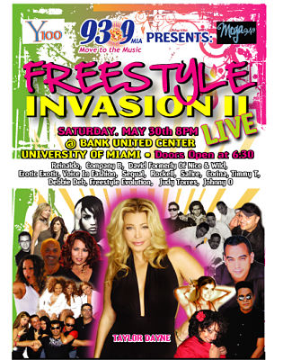 Freestyle Invasion Show Tickets