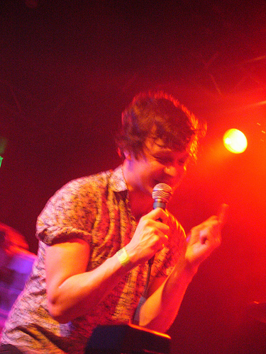 Friendly Fires Show 2011