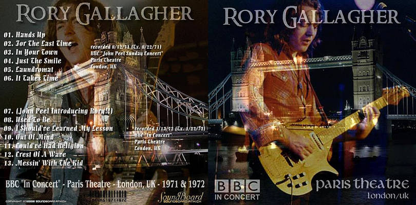 Gallagher 2011 Tour Dates