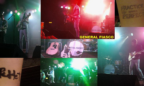 2011 Dates Tour General Fiasco
