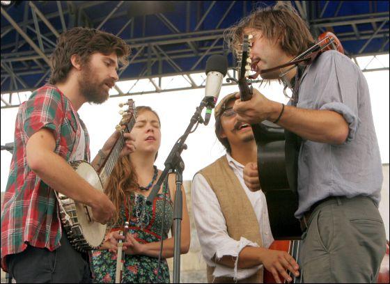 George Weins Folk Festival 2011 Show