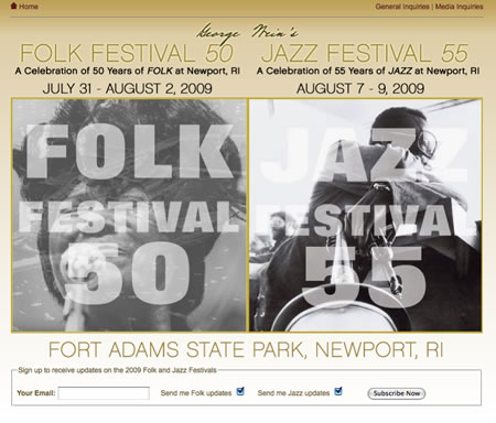 George Weins Folk Festival Show Tickets