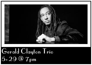 Concert Gerald Clayton Trio