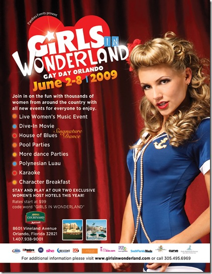 Girls In Wonderland Dates 2011