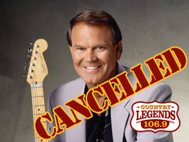 Glen Campbell Tickets Silver Springs