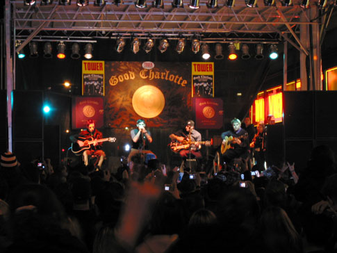 Concert Good Charlotte