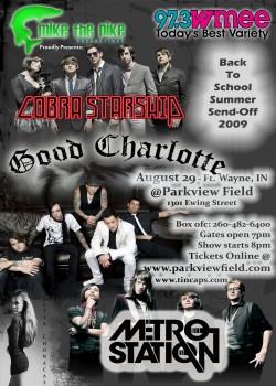 Good Charlotte Dates 2011