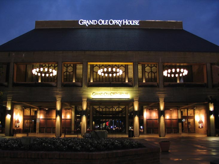 Grand Ole Opry Tour Schedule