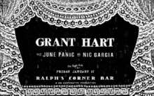 Grant Hart Middle East Upstairs Tickets