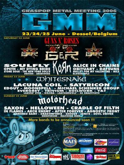Graspop Metal Meeting Dessel Tickets