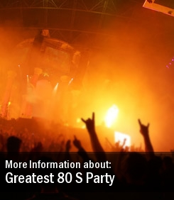 Greatest 80 S Party Tickets Powderham Castle