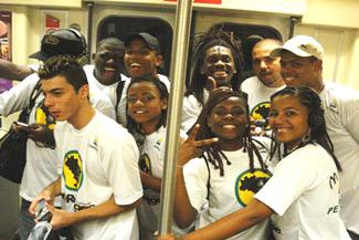 2011 Dates Grupo Cultural Afroreggae