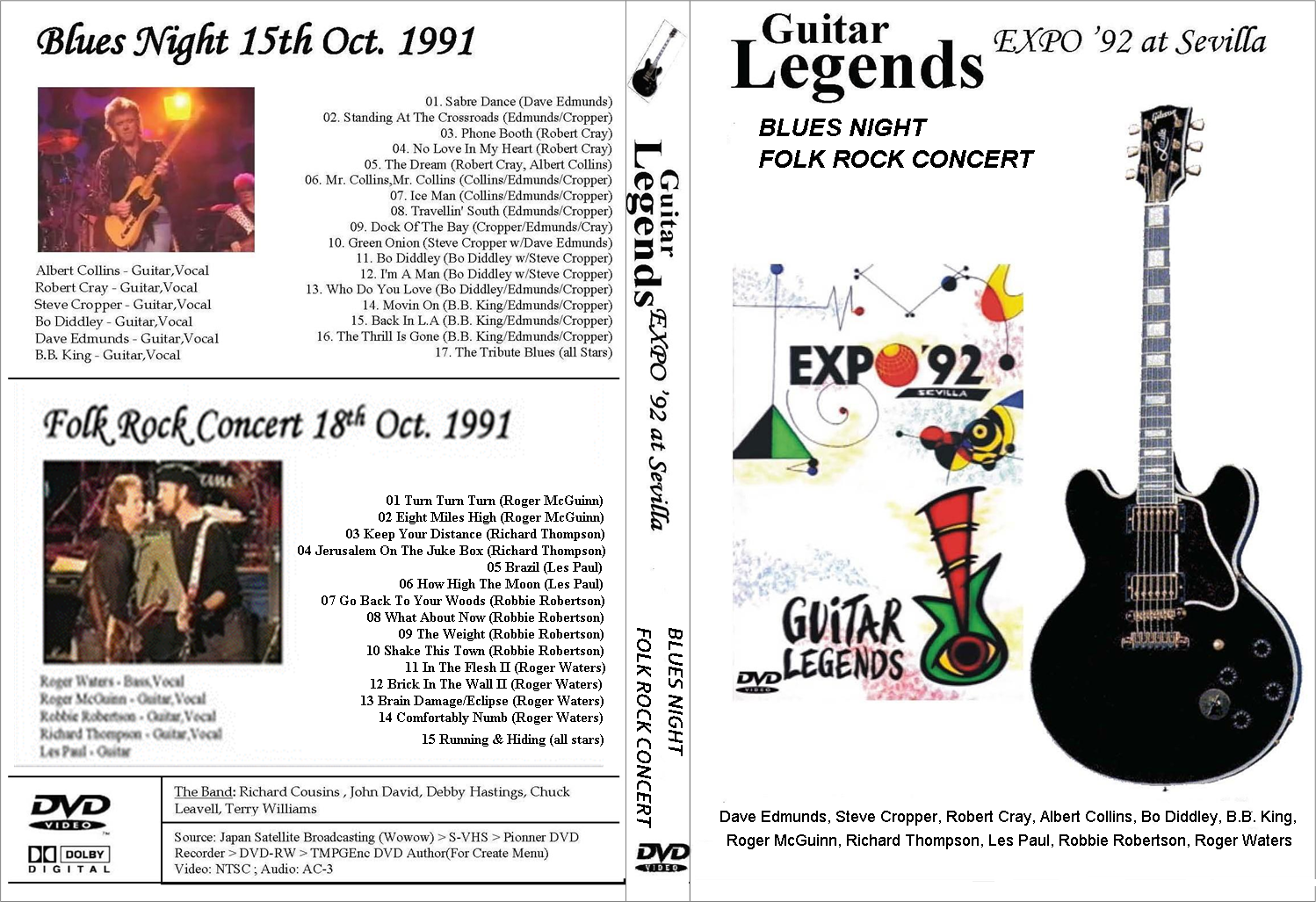 2011 Guitar Legends Of Rock And Blues Dates