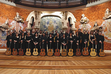 Concert Guitar Orchestra Of Barcelona