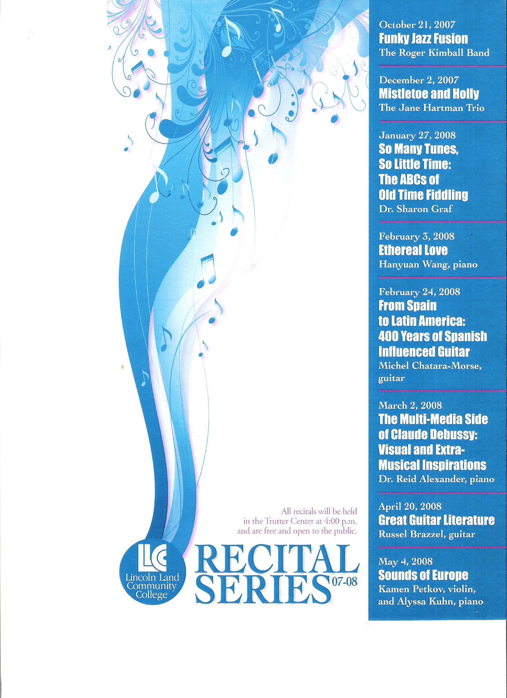 Guitar Studio Recital Tickets Plaza Del Sol Performance Hall