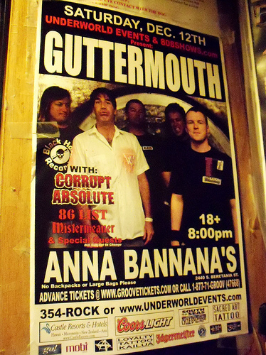 Guttermouth Tickets Denver