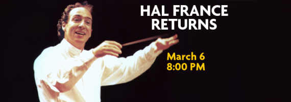 Hal France Returns Tickets Bob Carr Performing Arts Centre