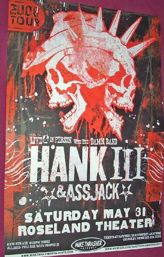 Hank Iii The Orange Peel